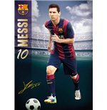 Barcelona - Messi 14/15 (Poster Giant 100x140 Cm)