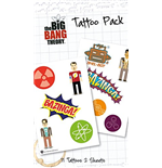 Big Bang Theory - Bazinga (Temporary Tattoo)