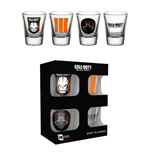 Set 4 bicchieri piccoli Call Of Duty Black Ops 3 - Mix