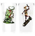 Dc Comics - Harley And Ivy Bombshells (Set 2 Bicchieri)