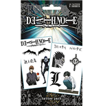 Death Note - Characters (Temporary Tattoo)