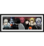 Death Note - Characters (Stampa In Cornice 75x30 Cm)