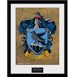 Harry Potter - Ravenclaw (Stampa In Cornice 30x40 Cm)