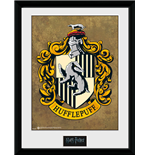 Harry Potter - Hufflepuff (Stampa In Cornice 30x40 Cm)