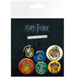 Harry Potter - Crests (Badge Pack)