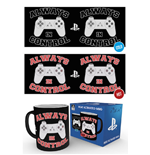 Playstation - Always In Control (Tazza Termosensibile)