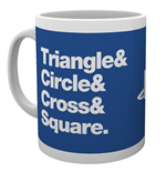Playstation - Circle Square Cross Triangle (Tazza)