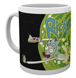Rick And Morty - Logo (Tazza)