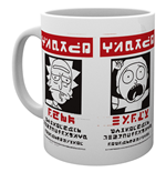 Rick And Morty - Wanted (Tazza)