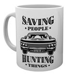 Supernatural - Hunting Things (Tazza)