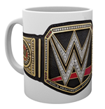 Wwe - Title Belt (Tazza)