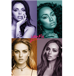 Poster Little Mix - Quad - 61x91,5 Cm