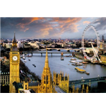 London - Reichold The Thames (Poster Giant 100x140 Cm)