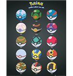 Pokemon - Pokeballs (Poster Mini 40x50 Cm)