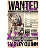 Suicide Squad - Harley Wanted (Poster Maxi 61x91,5 Cm)