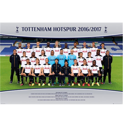 Tottenham Hotspur - Team Photo 16/17 (Poster Maxi 61x91,5 Cm)