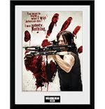 Walking Dead (The) - Daryl Bloody Hand (Stampa In Cornice 30x40 Cm)