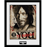 Walking Dead (The) - Daryl Needs You (Stampa In Cornice 30x40 Cm)