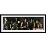 Walking Dead (The) - Survivors (Stampa In Cornice 75x30 Cm)