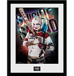 Suicide Squad - Harley Quinn Good Night (Stampa In Cornice 30x40 Cm)