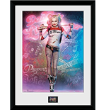 Suicide Squad - Harley Quinn Stand (Stampa In Cornice 30x40 Cm)