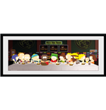 South Park - Last Supper (Stampa In Cornice 75x30 Cm)