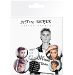 Justin Bieber - Mix 3 (Badge Pack)