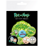 Rick And Morty - Characters (Badge Pack)