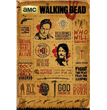 Walking Dead (The) - Infographic (Poster Maxi 61x91,5 Cm)
