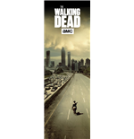 Walking Dead (The) - City (Poster Da Porta 53x158 Cm)