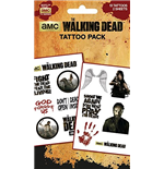 Walking Dead (The) - Characters (Temporary Tattoo)