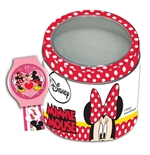 Orologio in box latta Minnie