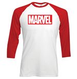 T-shirt manica lunga Marvel Superheroes Marvel Logo