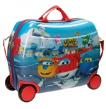 Trolley cavalcabile 50 cm Super Wings