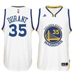 Maglia Golden State Warriors Kevin Durant adidas bianca New Swingman Home