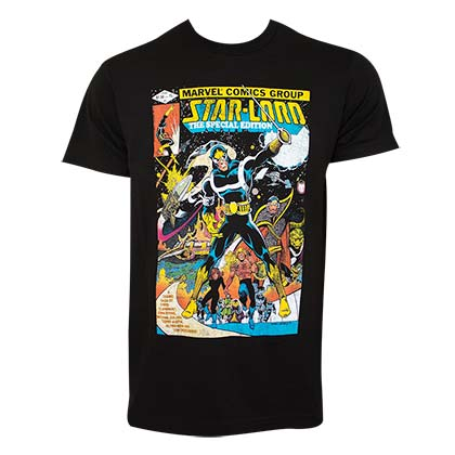 T-shirt Guardians of the Galaxy Star Lord Comic