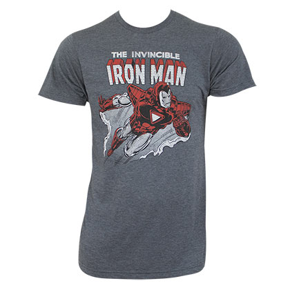 T-shirt Iron Man Invincible