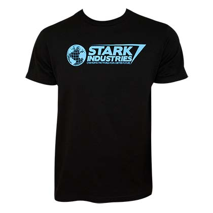 T-shirt Iron Man Stark Industries