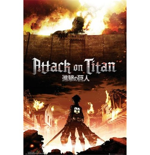 Attack On Titan - Key Art (Poster Maxi 61x91,5 Cm)