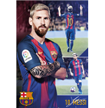 Poster Barcelona - Messi Collage 16/17