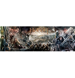 Hobbit (The) - Battle Of Five Armies Collage (Poster Da Porta 53x158 Cm)