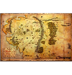 Hobbit (The) - Map (Poster Maxi 61x91,5 Cm)