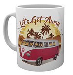 Vw Camper - Lets Get Away Sunset (Tazza)