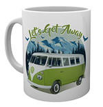Vw Camper - Lets Get Away Mountain (Tazza)