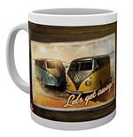 Vw Camper - Lets Get Away (Tazza)