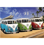 Vw Camper - Campers Beach (Poster Giant 100x140 Cm)