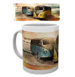 Vw Camper - Beach (Tazza)