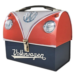 Volkswagen - Tin Tote (Domed) - Vw Original (Red) (Valigetta Metallica A Cupola)
