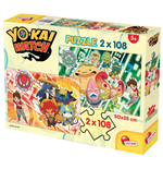 Yo-Kai Watch - Puzzle 2x108 Pz - A New Adventure Begins