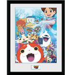Yokai Watch - Key Art (Stampa In Cornice 30x40 Cm)
